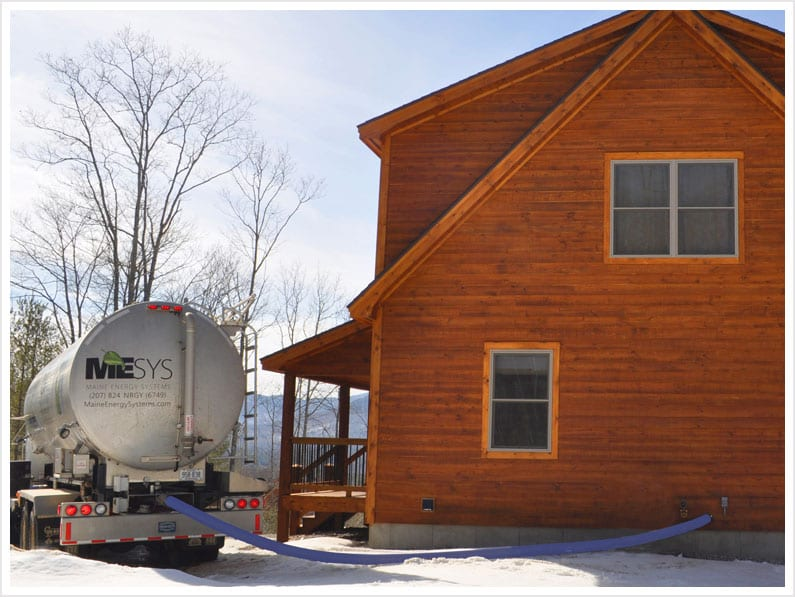 Maine Energy Systems Pellet Delivery